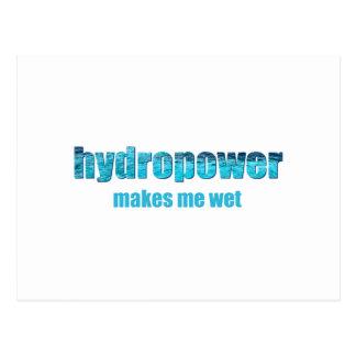 Hydropower Wet! Postcard
