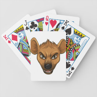 Hyena Bicycle Playing Cards