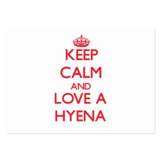Hyena Business Card Templates