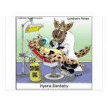 Hyena Dentistry Funny Gifts, Tees & Collectibles Post Cards