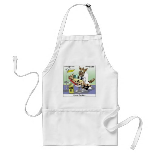 Hyena Dentistry Gifts Tees Mugs Cards Etc Adult Apron
