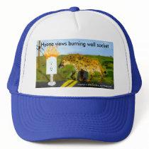 Hyena Head Trucker Hat