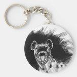 Hyena histérico llaveros personalizados