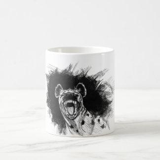 Hyena histérico tazas de café