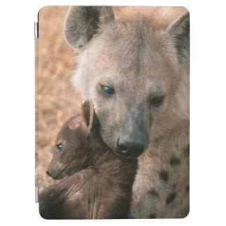 Hyena manchado (Crocuta del Crocuta) con el Cubierta De iPad Air