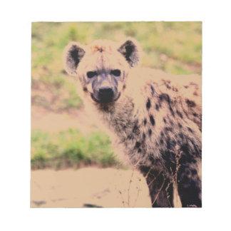 hyena memo pads