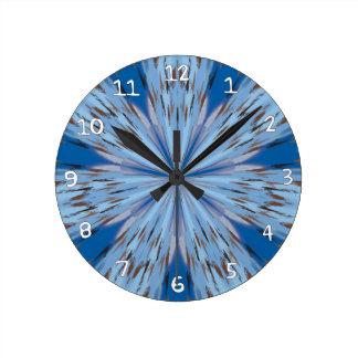 Hyena Orchid Round Clock