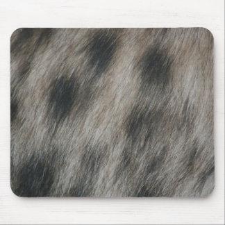 Hyena pattern mouse pad