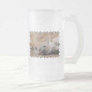 Hyena Picture Beer Mug