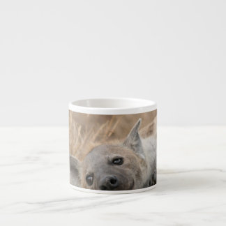 Hyena Picture  Specialty Mug 6 Oz Ceramic Espresso Cup