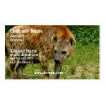Hyena Prowl Business Card
