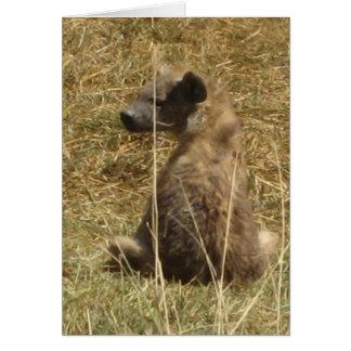 Hyena Pup Card