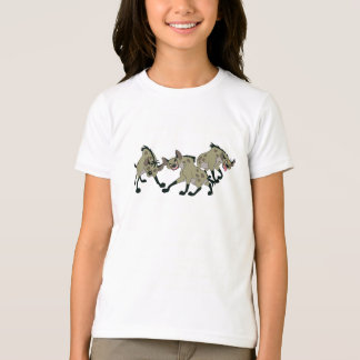 Hyenas Disney del león de rey Polera