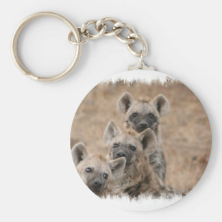 Hyenas Keychain