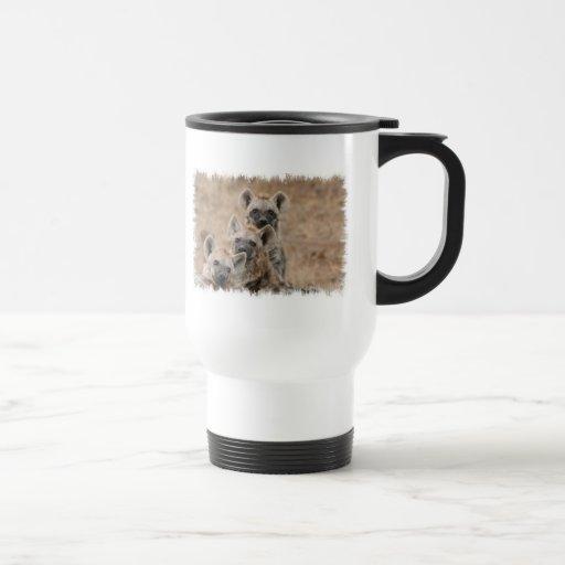 Hyenas Plastic Travel Mug