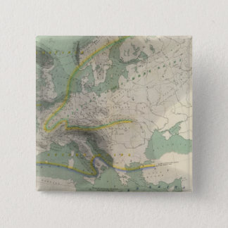 Hyetographic map Europe Button