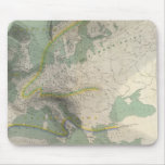 Hyetographic map Europe Mouse Pad