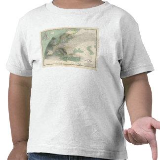 Hyetographic map Europe Tshirts