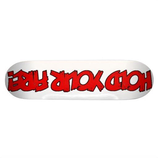 HYF! Skateboard Deck