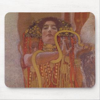 Hygeia by Gustav Klimt Mouse Pad