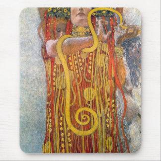 Hygeia by Gustav Klimt Mouse Pads