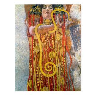 Hygeia by Gustav Klimt Postcard