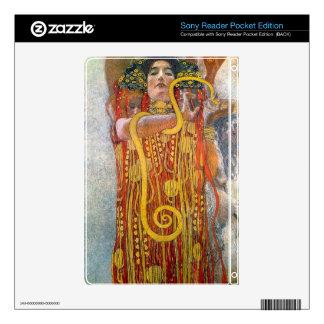 Hygeia by Gustav Klimt Skin For Sony Reader