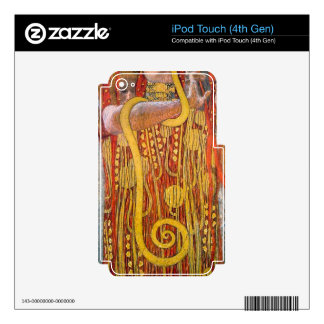 Hygeia by Gustav Klimt iPod Touch 4G Decal
