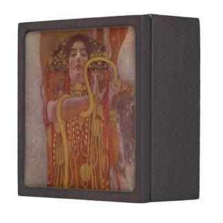 Hygeia de Gustavo Klimt Caja De Recuerdo De Calidad