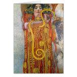Hygeia de Gustavo Klimt Tarjetas
