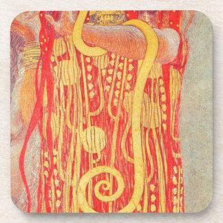 Hygieia by Gustav Klimt Coaster