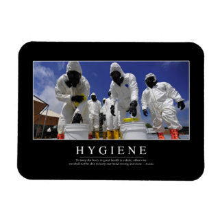 Hygiene: Inspirational Quote Magnet