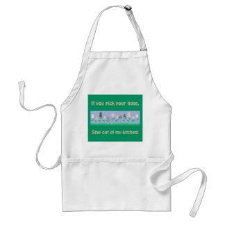 Hygiene Message Adult Apron
