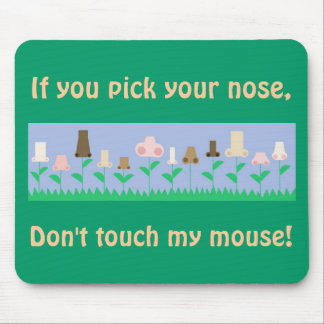 Hygiene Message Mouse Pad