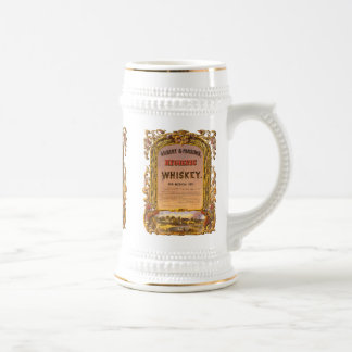 Hygienic Whiskey: 1860 - Beer Stein