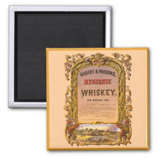 Hygienic Whiskey: 1860 - Magnet #1