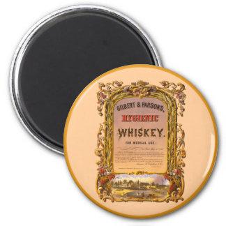 Hygienic Whiskey: 1860 - Magnet #2