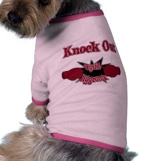 Hygroma enquistado camiseta de perro