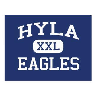 Hyla Eagles Middle Bainbridge Island Postcard