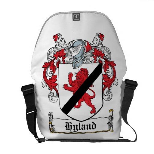 Hyland Family Crest Messenger Bags