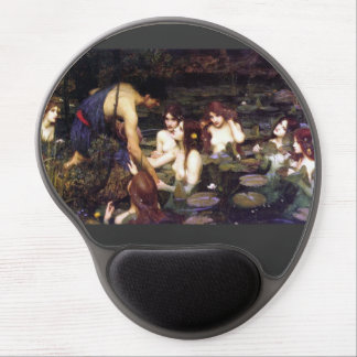 Hylas and the Nymphs Waterhouse Gel Mouse Pad