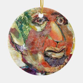Hymie. a funny loser. a shlemeil ceramic ornament