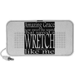 Hymn Amazing Grace (Black) Speaker