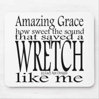 Hymn Amazing Grace Mouse Pad