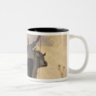 Hymn of the Earth to the Sun, 1892 Two-Tone Coffee Mug