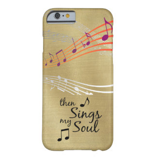Hymn: Then Sings my Soul Quote Barely There iPhone 6 Case