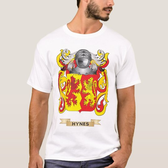 Hynes Coat of Arms (Family Crest) T-Shirt