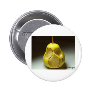 Hyoi Pear 2 Inch Round Button