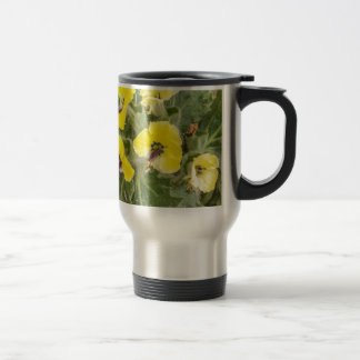 Hyoscyamus aureus travel mug