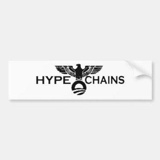 Hype&Chains Bumper Sticker